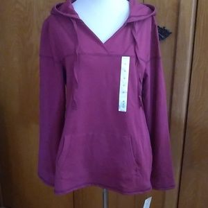 NWT - Sonoma Ladies Hooded Top - Medium NEW